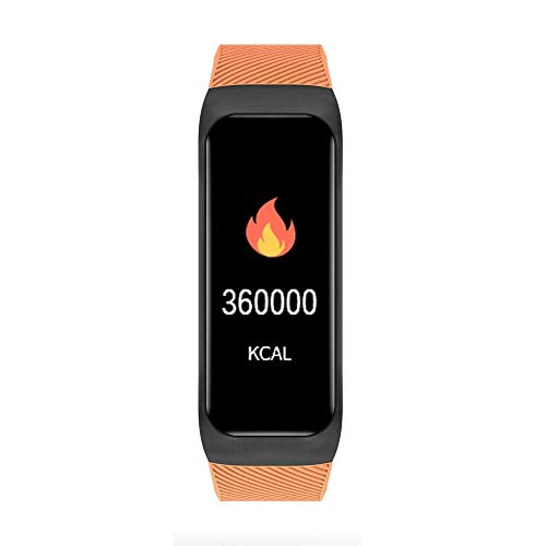 Yanganjin Fitness Watch, fitnesstracker, activiteitstracker met hartslagmonitor, bloeddruk, stappenteller, intelligente armband voor Android en iOS
