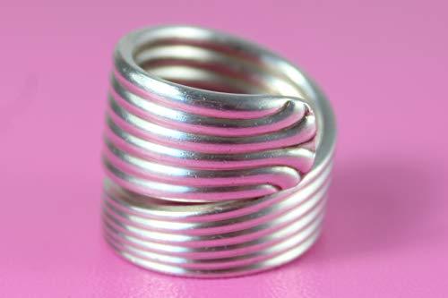 Besteckschmuck Ring, ca. 65 (20,8) Ring aus Besteck
