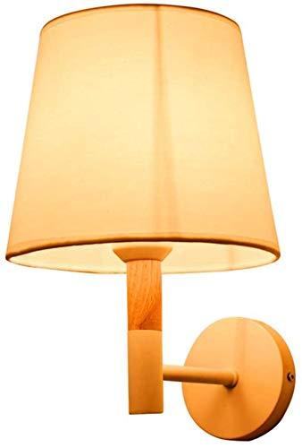 ALIXIN Wall lamp simple modern creative solid wood warm bedroom balcony bedside wall lamp corridor corridor,warm light