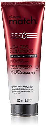 Boticario - Linha Match (Liga dos Coloridos) - Condicionador de Protecao 250 Ml - (Boticario - Match (Color League) Collection - Protection Conditione
