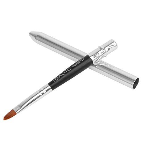 Lurrose Lippenpinsel Reise Lippenstift Applikatoren Pinsel mit Kappe wiederverwendbare Make-up-Pinsel für Lipgloss-Creme