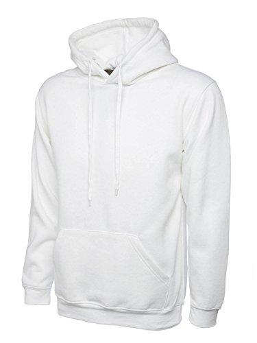 UC502 - White - XXL - 300GSM Classic Hooded Sweatsh