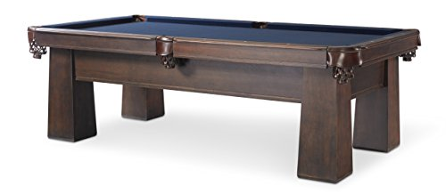 Why Choose Plank and Hide Carnegie Cocoa 8' Pool Table with Drawer