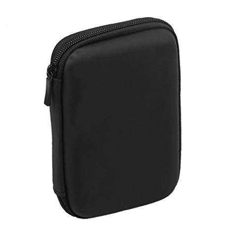 Aardich Mini USB 3.0 / USB 2.0 de 1 TB de Disco Duro móvil Externo 301558 Compacto de Disco Duro portátil Case-Negro