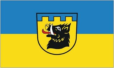Fahne / Flagge Auenwald 90 x 150 cm