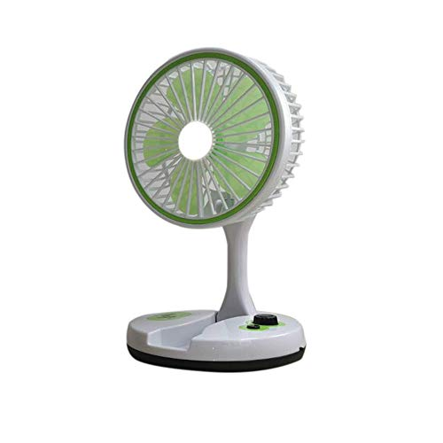 JSKDF Usb Fan Portable Fan Mini Fan Usb Rechargeable Electric Fan Five-Leaf Foldable Student Dormitory Mini Portable Simple Fan