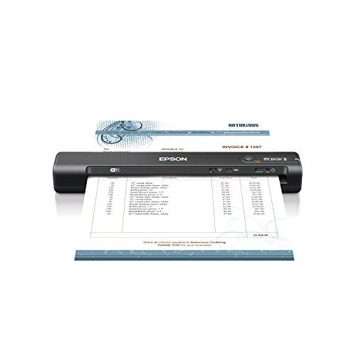 Epson Workforce ES-65WR Wireless Portable...