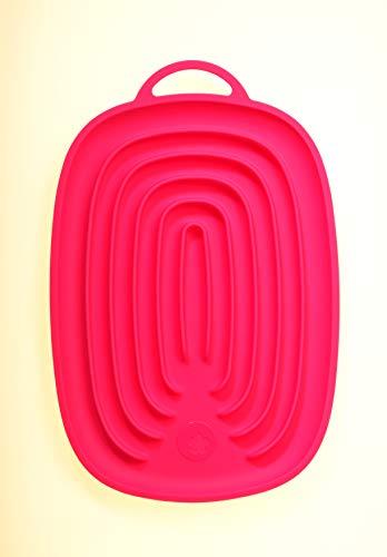 Kochblume Silikon Multiablage (pink)