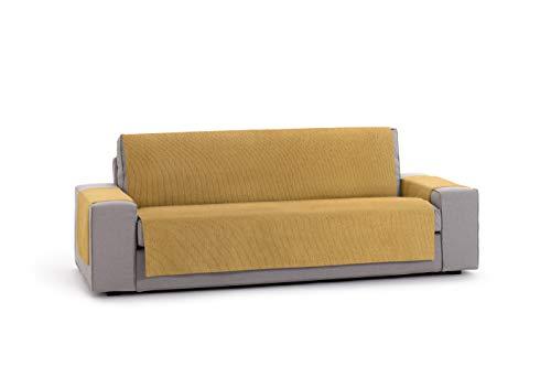Salvasofá o Funda de sofá práctica Rabat 4 plazas Color 05/Mostaza