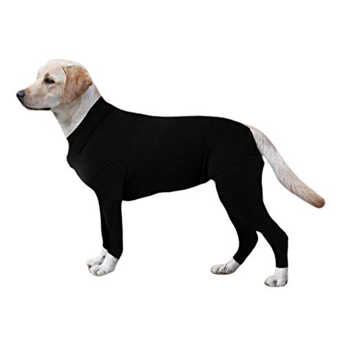 Hankyky Dog Surgical Recovery Suit Bauchwundenschutz, After Surgery Wear, E-Collar Alternative für Hunde, Heimtierbekleidung