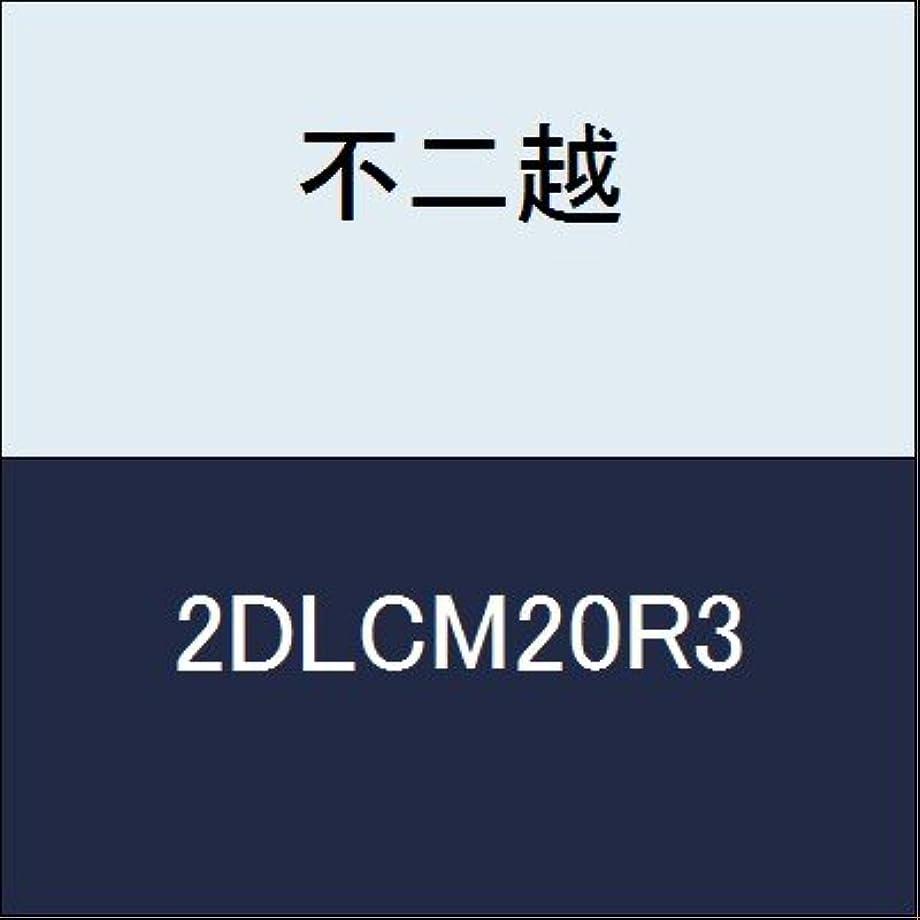 燃料驚いた無意味不二越 切削工具 DLCミルラジアス 2DLCM20R3