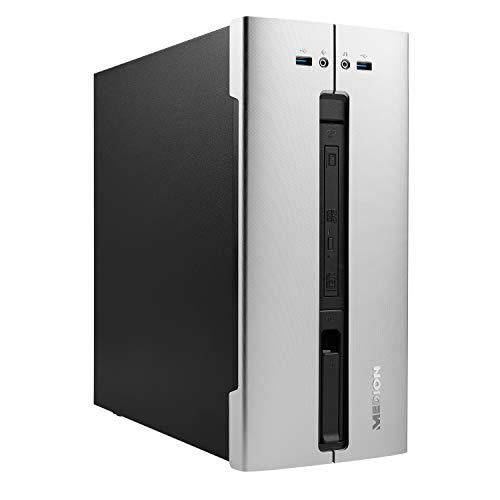 MEDION E62028 Desktop PC (Intel Core i5-10400, 8GB DDR4 RAM, 512GB SSD, DVD, Intel UHD, WLAN, Hot Swap, Win 10 Home)