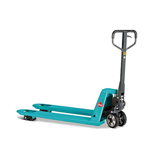 Handhubwagen Ameise®, TK 2.500 kg, GL 1.150 mm, Vollgummi/Polyurethan - Bewährter Industriestandard mit hoher Tragkraft
