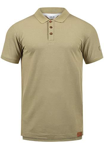 !Solid TripPolo Herren Poloshirt Polohemd T-Shirt Shirt Mit Polokragen, Größe:XL, Farbe:Sand Melange (8409)