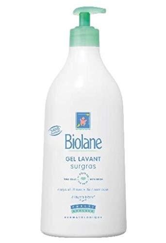 Biolane Gel Lavant Surgras Corps et Cheveux 750ml (lot de 3)