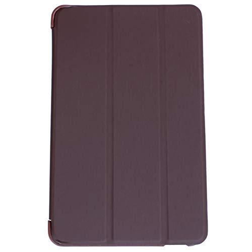 Heritan Para Mediapad T1 8 'S8-701U Tablet Funda Soporte Ultra Delgado Color: Marrón
