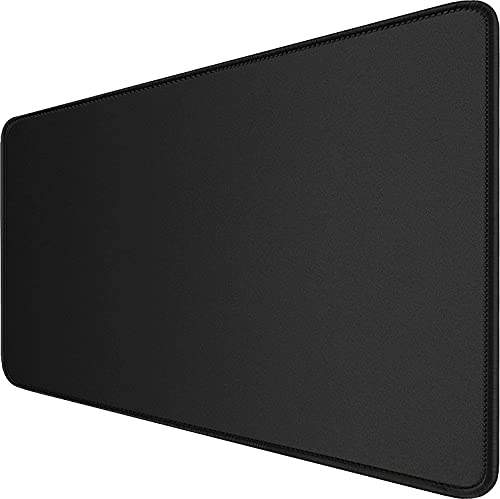 Fariox Gaming Mouse Pad XXL, Extended Large Desk mat, Mousepad for Laptop, Mouse Pads for PC Keyboard with Non-Slip Rubber Base Black with Black Border (70 X 30)