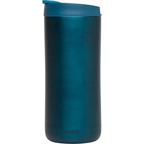 Aladdin 33459 Edelstahl-Thermobecher / Isolierbecher, vakuum isoliert, 0,35 L, marine