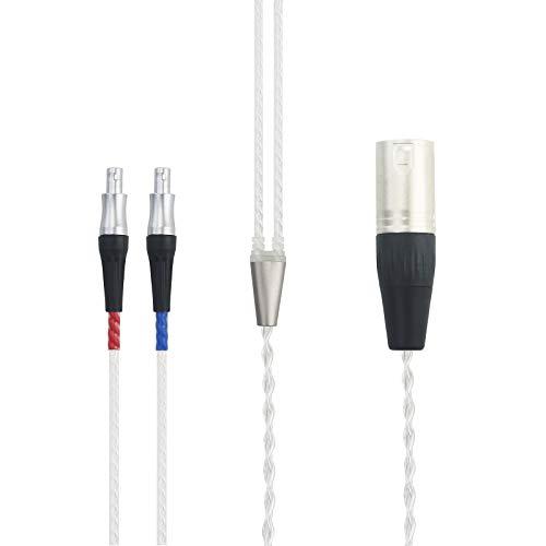 Cable de alta fidelidad XLR de 4 pines macho equilibrado compatible con...