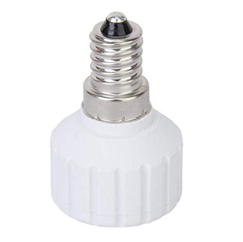 Bases de lámpara, E14 a GU10 Soporte de lámpara Convertidor Base Adaptador...