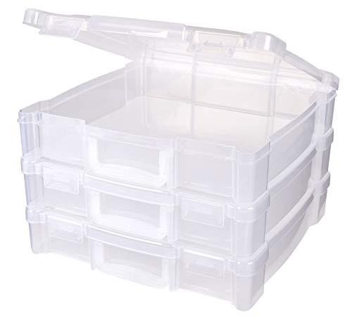 ArtBin Aufbewahrungsbox mit Griff, 3 Stück