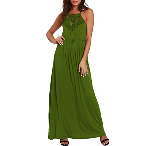 Cheapest Prices! Startview Women Sleeveless Dress Summer Loose Plain Maxi Dresses Casual Long Dress ...