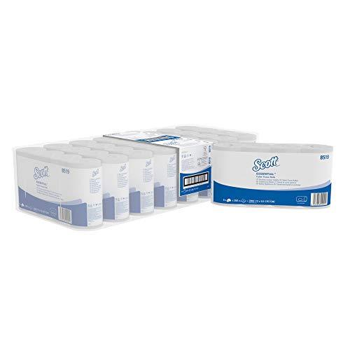 Scott Essential Toilettenpapier 8519 - 64 Toilettenpapierrollen x 350 Wc-papier Blätter (22.400 Blätter) - weiß, 2-lagig