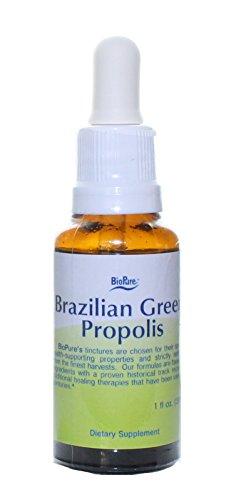 Brazilian Green Propolis by Biopure - Herbal Tincture (1 fl oz, Liquid)