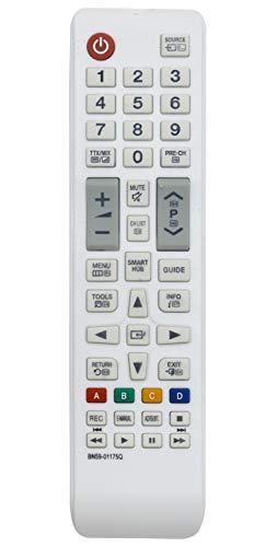ALLIMITY BN59 01175Q Fernbedienung Ersetzen für Samsung Full HD Smart TV UE32H5303 UE32H5570 UE32H6200 UE40H5570 UE40H6200 UE40H6470 UE48H5570 UE48H6200 UE48H6470 UE48H6890 UE50H6470