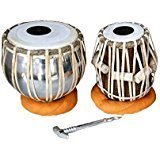 LAGSAR Tabla with Cover, Hammer and Gaddi (Silver)