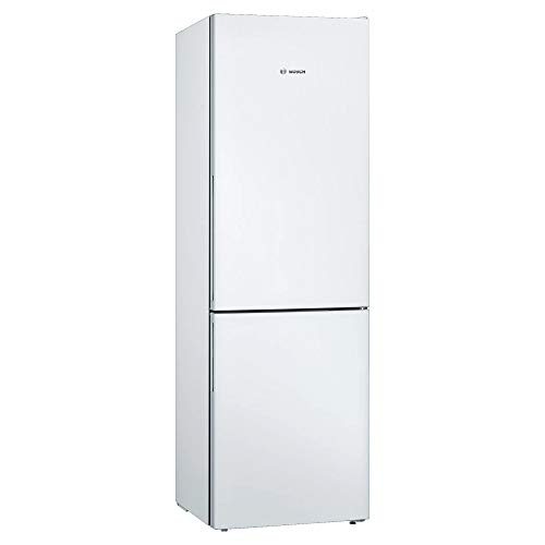 Bosch KGV36VWEAG Serie 4 Freestanding Fridge Freezer with Low Frost and VitaFresh, 186cm, 308L capacity, 60cm wide, White