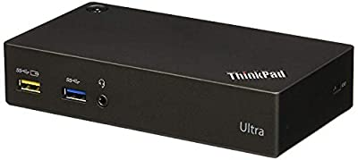 Lenovo Thinkpad Ultra Dock 40A80045US USB 3.0, USB 2.0, HDMI, Display Port