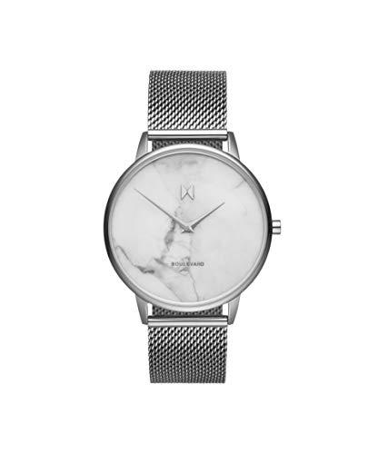 MVMT Damen Analog Quarz Uhr mit Edelstahl Armband D-MB01-SMA