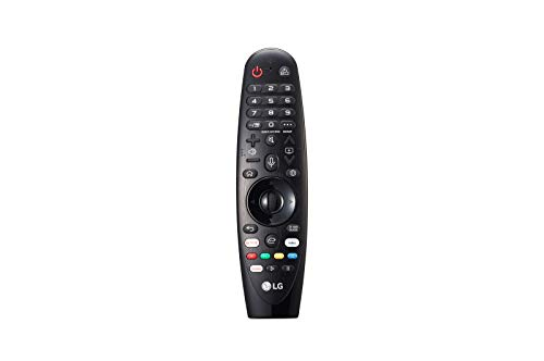 LG Magic Control AN-MR19BA - Mando a distancia (añade Amazon Alexa a tu tele LG, Reconocimiento de voz, apunta y navega, rueda de scroll, botones Netflix y Amazon, teclado numérico) color Negro