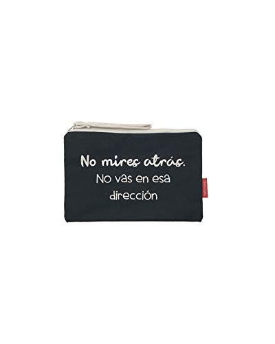 Hello-Bags, Bolso Neceser/Cartera de Mano, 23 cm, Negro
