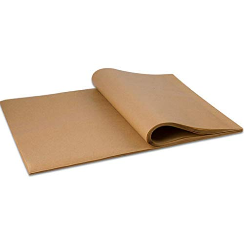 100 Pcs Parchment Paper Baking Sheet Perfect Non-Stick Parchment Sheets for Baking supplies Hot Dog Buns, Air Fryer, Cookie Sheet 12x16 Inch Parchment Paper (wood-100)