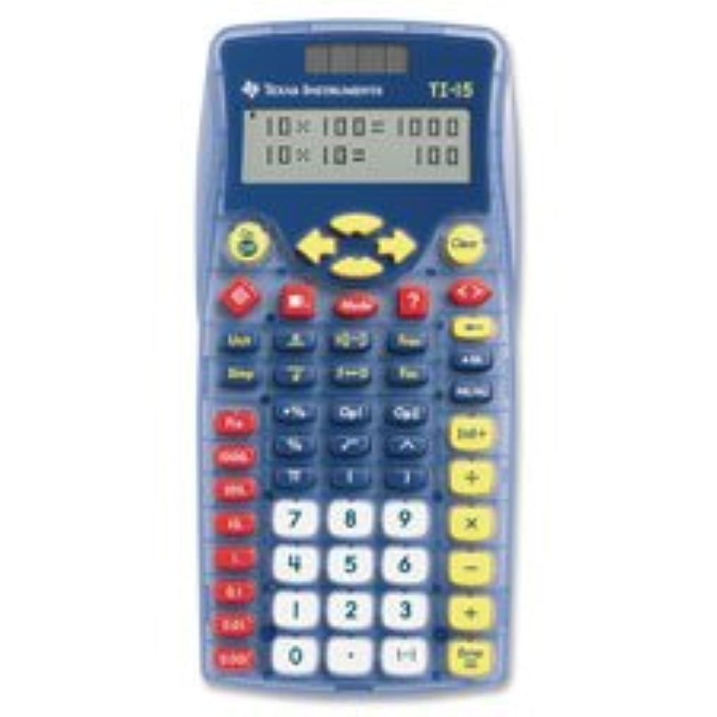 書き出すそんなに南アメリカExplorer電卓、ti-15、複線表示,ブルー, Sold as 1?Each