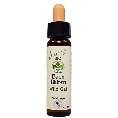 Wild Oat Nr. 36 Just´s Original englische BIO Bachblüten Waldrespe Blütentherapie für Mensch und Tier