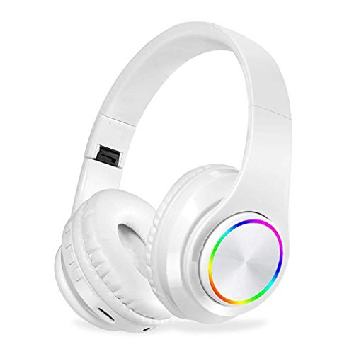 LCSD Gaming Headset. Drahtloser Bluetooth 5.0 Kopfhörer Gaming Headset Over-Ear-Kopfhörer Mit...