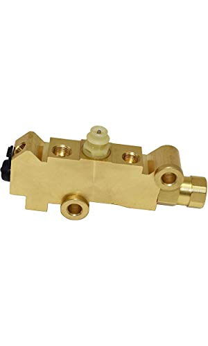 A-Team Performance Combination-Proportioning Valve, PV2 172-1353 PV71 Disc/Drum Brakes, Front Drum Rear Brake Brass, Compatible with GM Street Rod Classic Car Truck