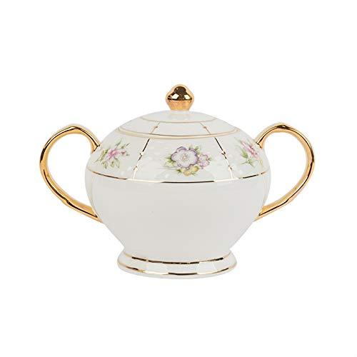 HRDZ Juego de té de la Tarde Juego de Tazas de café Taza de Porcelana China pequeña Exquisita Taza de té Negro de cerámica