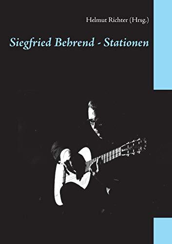 Siegfried Behrend - Stationen