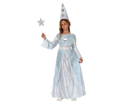 Atosa - 10801 - Costume - Déguisement De Fille Mage - Taille 4