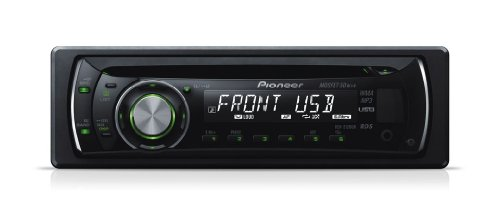 Pioneer DEH 2120 UB Auto CD-Tuner (Front-USB, Front-AUX-In, gruene Tasten)