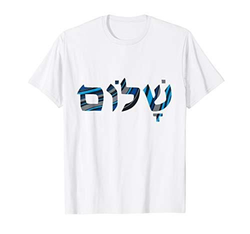 SCHALOM Hebräische Buchstaben PEACE Israel Jüdisches