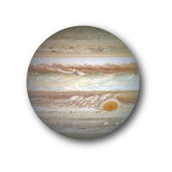 CBWS-07 32mm缶バッジ 木星 Jupiter ジュピター 惑星缶バッジ