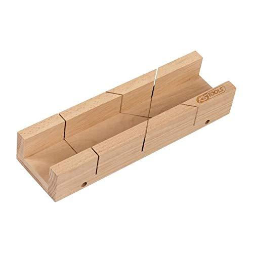 KS Tools 907.2514 Boite à onglet en bois 300 x 54 x 36 mm innerlåda, trä, 300 x 54 x 36 mm, FSC, 100%, vit