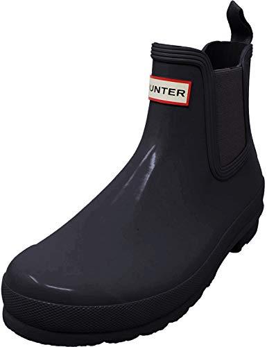 Hunter Original Chelsea Boots - Botas de Caucho para mujer, color, Schwarz (Black), 37