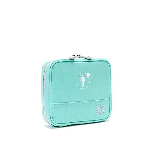 kaige Firma Medicine Truhe Travel Outdoor Medical Tasche Haushalt Mini Medical Supplies Tasche Tragbare Kleine Medizin Box Feuchtigkeitsdicht (Farbe: Rosa, Größe: 19 * 10 * 13cm) WKY