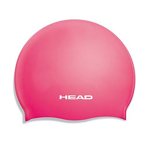 HEAD Cap Silikon Flat Jr. - Kinder Schnorchel-Mütze Pink Fuchsia